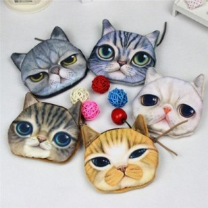 Cute Cartoon Cat Purse