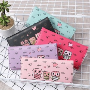 Cute Cartoon Owl Wallet