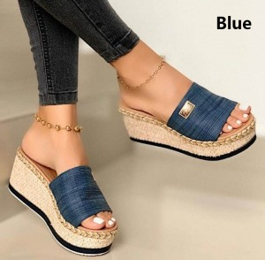 OPEN TOE PLATFORM DAILY COMFORTABLE WEDGE SANDALS