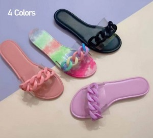 Women Chain Candy-color Sandals