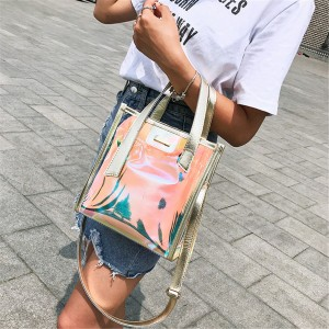 WOMEN FASHION JELLY HANDBAG