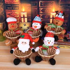 Candy Storage Basket Gifts Christmas Decor For Home Party