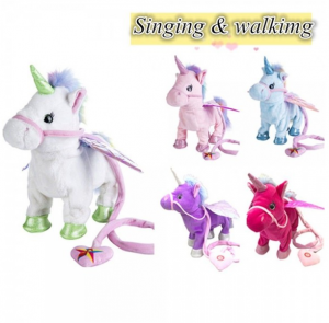 Walking & Singing interactive Unicorn
