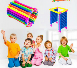 420/500 Pcs DIY Creative Smart Sticks Educational Building Blocks Toys