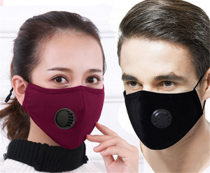 PM2.5 Non-woven Anti-dust Face Mask With Valve Filter For Adults