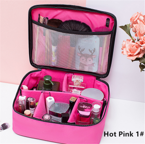 Professional Cosmetic Bag Portable Makeup Bags Travel Organizer
