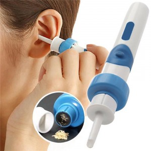 Electric Safe Painless Vacuum Ear Wax Pick Cleaner Digger Earpick