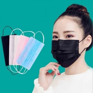50 Pcs/Set Disposable Breathable Non-woven Face Cover