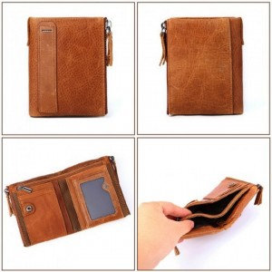 MENS' RFID LEATHER WALLET