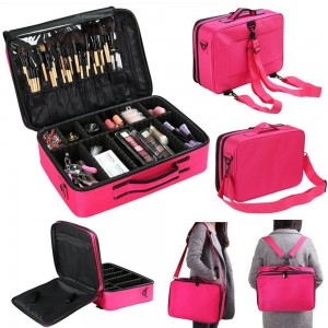 Multi-layer Professional Makeup Bag