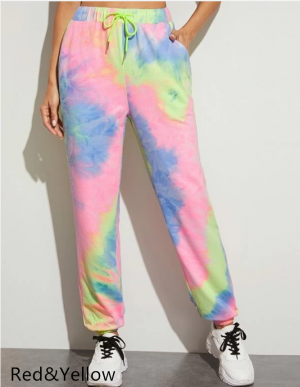 Women's Dye Jogging Pants