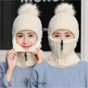 Ear&Neck Protection Knitted Winter Warm Hat