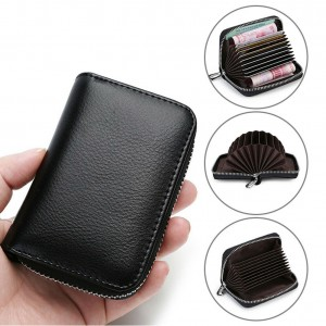 Leather RFID-Blocking Wallet