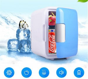 4L MINI CAR USE ULTRA QUIET LOW NOISE REFRIGERATOR