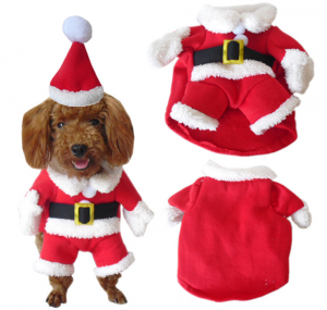 Pet Christmas Costume Dog Suit