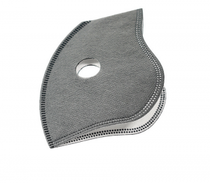 2 Pcs Activated Carbon Filter Protective Mask Pad For Face Mask Replacement