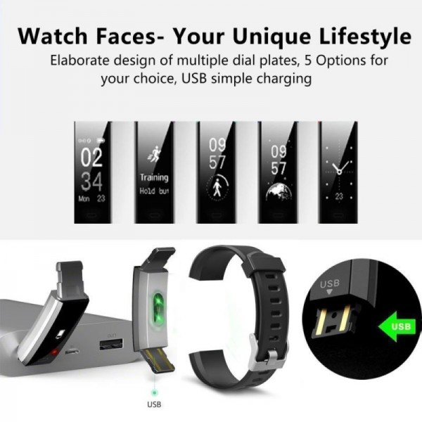 VeryFit ID115 Plus Bluetooth Smart Watch